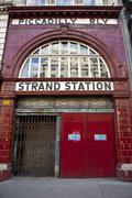 Strand / Aldwych Station Stock Photos