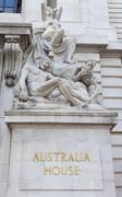 Australia House on the Strand in London - stock photo