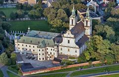 skalka sanctuary in cracow - stock photo