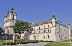 skalka sanctuary in cracow, poland - stock photo