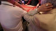 Blackjack Deal Stock Footage