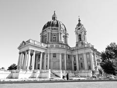 Stock Photo of basilica di superga, turin, italy