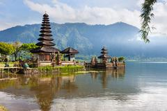Pura ulun danu Stock Photos
