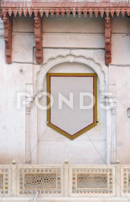 Stock photo of decorative facade detail