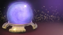 Crystal Ball Stock Footage
