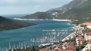 Stock Video Footage of Kas marina panorama 3