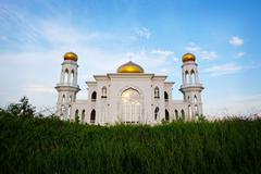 islamic mosque - stock photo