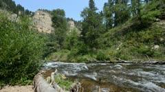 Stock Video Footage of Flowing Water