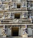 Indian temple close up Stock Photos