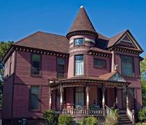 Victorian mansion Stock Photos