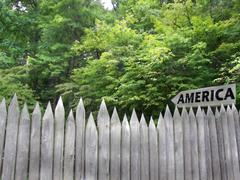 American Border - stock photo