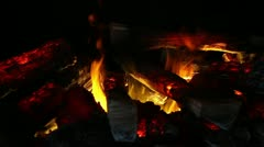 Perfect Fire - Background - Wide 2 Stock Footage