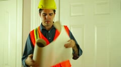 house renovation renovate - stock footage