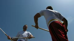 Arnis self defense Kung Fu Stock Footage