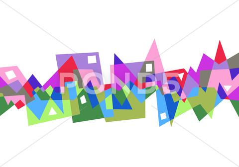 Stock Illustration of abstract geometric pattern