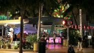 Stock Video Footage of The Clevelander Miami Beach