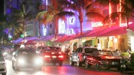 Stock Video Footage of Ocean Drive
