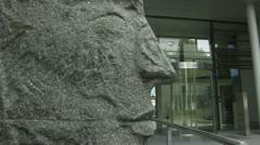 Max Planck Institute in Munich Stock Footage