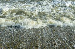 Stock Photo of turbulent sea