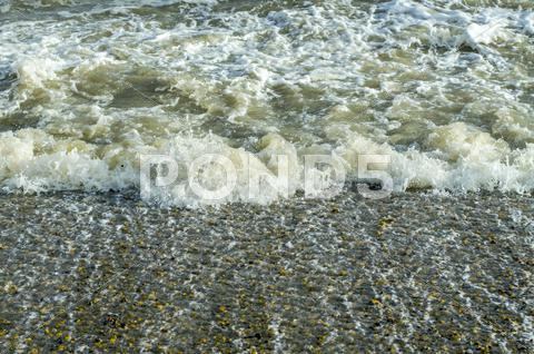 Stock photo of turbulent sea