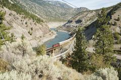 Canada - british columbia - fraser valley - lytton Stock Photos