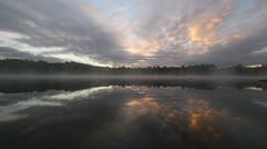 Lake Muskoka at Dawn Stock Footage
