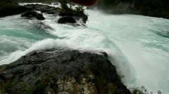 Saltos de Petrohue - Waterfall Stock Footage