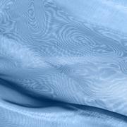 blue fabrics with moiré - stock photo