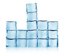 figures from ice - stock photo