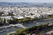 Stock Photo of river seine in paris