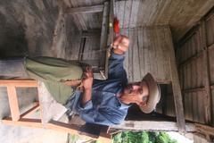 Cuban Farmer - stock photo