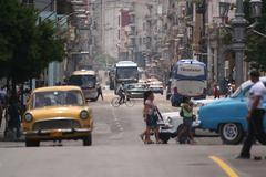 Habana Street Scene - stock photo