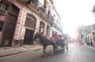 Stock Photo of Transporte cubano