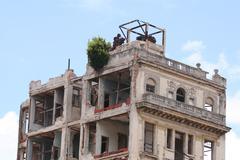 Habana Vieja Building - stock photo