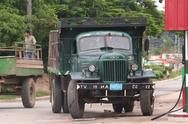 Stock Photo of Cuban Truck