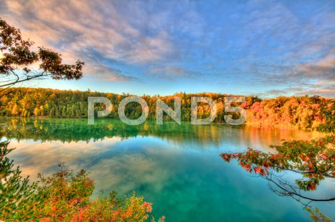 Stock photo of Pink lake
