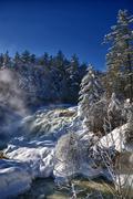 Winter Falls - stock photo