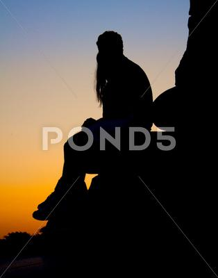 Stock photo of Silhouette