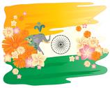 Stock Illustration of amazing india