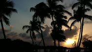Stock Video Footage of Sunset in Islamorada, Florida Keys