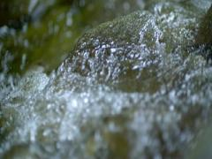 Tumbling stream Stock Footage