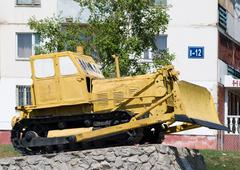 Dozer memorial - stock photo