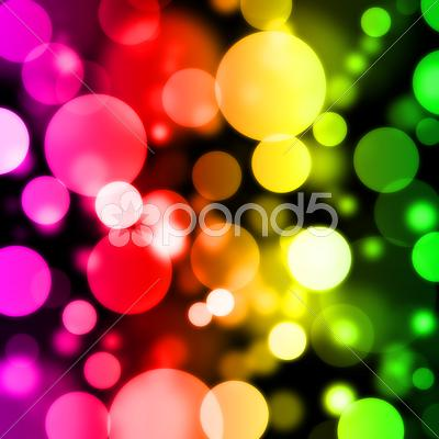 Stock Illustration of Digital Bokeh