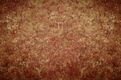 dark old vintage brown chapped wall background - stock photo