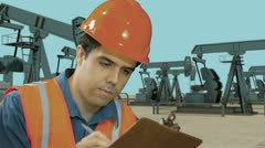 Oil industry Stock Footage