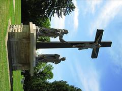 Patsas Jeesuksesta Kristuksesta ja Cross Kuvituskuvat