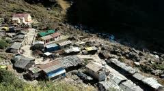 Way To Kedarnath Mandir Stock Footage