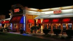 UNO's restaurant loop Stock Footage