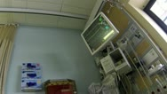 Stock Video Footage of Hospital equipment operation recovery room HD 036