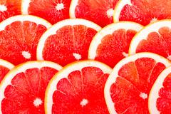 background from the grapefruit - stock photo